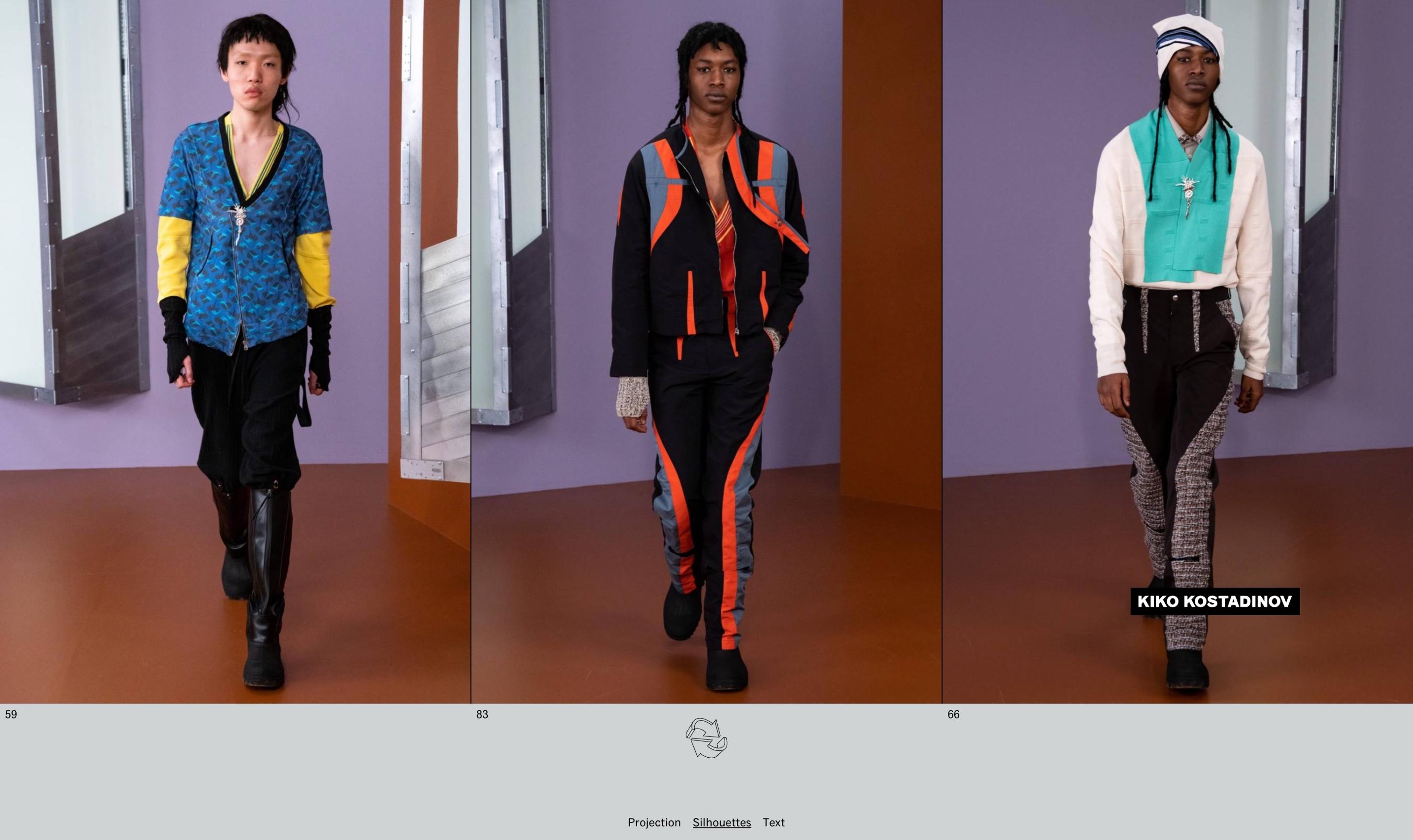 WAF GMBH – Menswear AW21/22 for Kiko Kostadinov