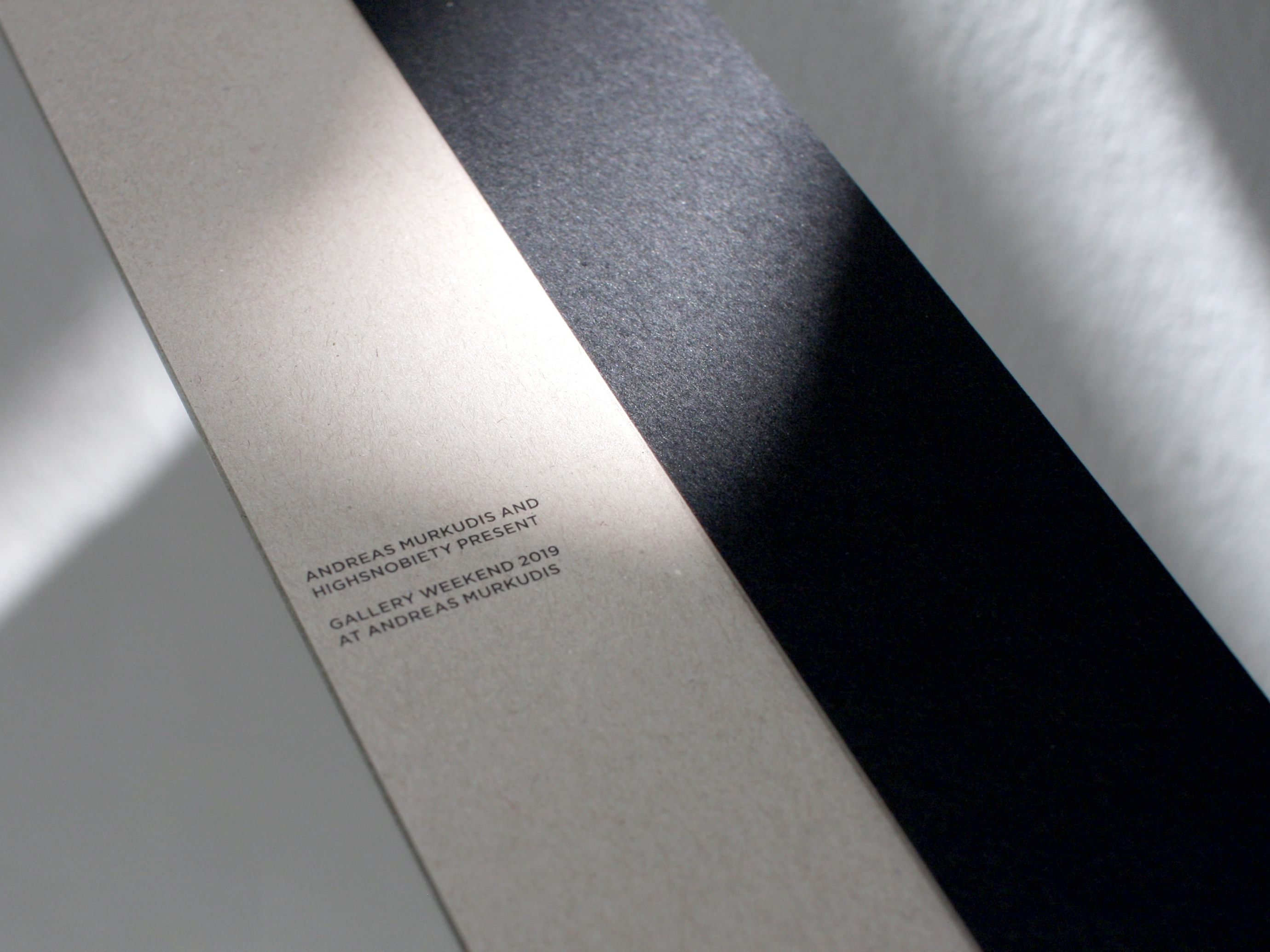 WAF GMBH – Architectural Invitations for Rick Owens