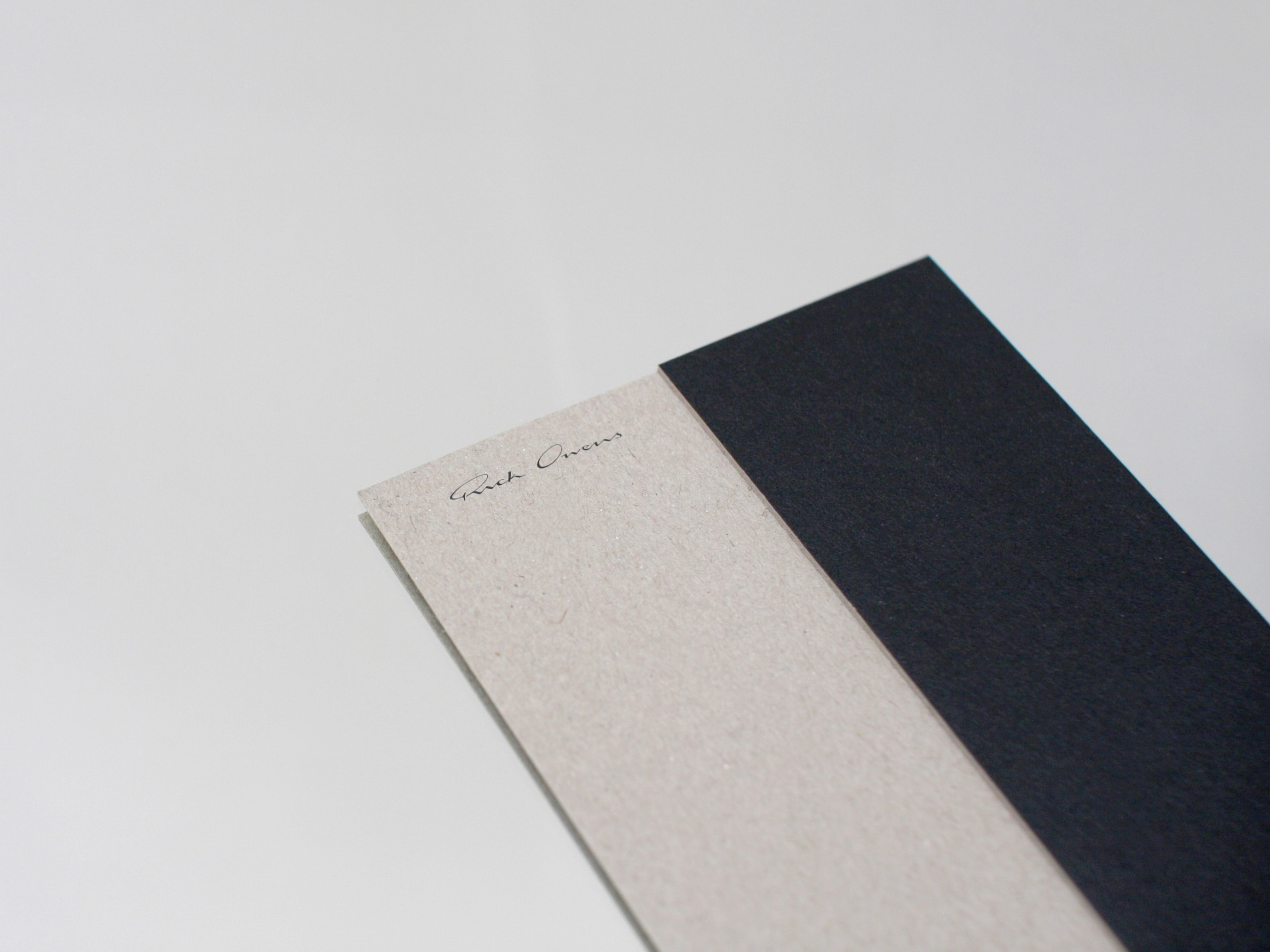 WAF GMBH – Architectural Invitations for Rick Owens at Murkudis
